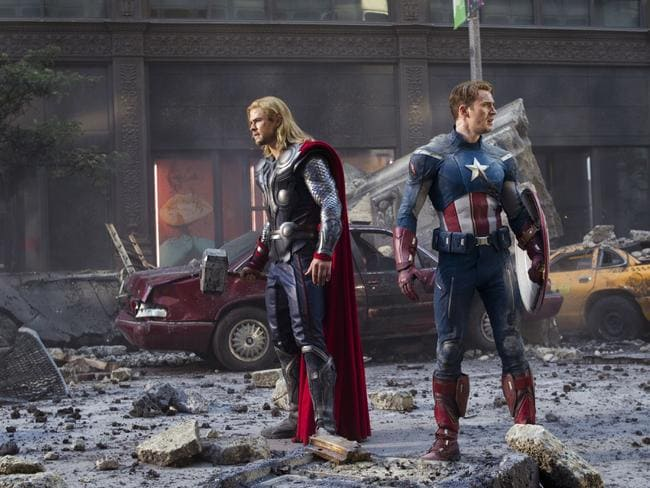 What happened ... There are big changes ahead for Thor (Chris Hemsworth) and Captain America (Chris Evans).