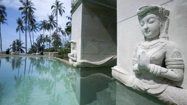 The lap pool at Kamalaya.