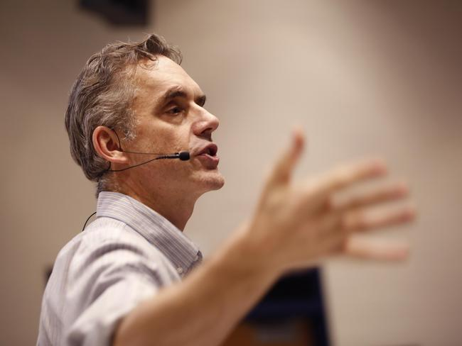 Dr Jordan Peterson has caused controversy by declaring he will not use pronouns, such as 'they' to recognise non-binary genders. Picture: Rene Johnston/Toronto Star via Getty Images