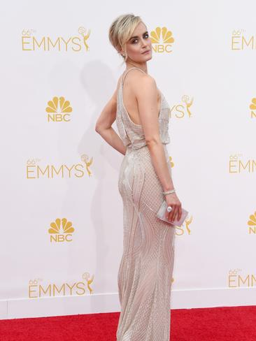 Taylor Schilling attends the 66th Annual Primetime Emmy Awards. Picture: Getty