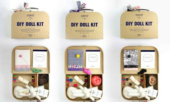 DIY DOLL KIT. Let her create her own feminist hero. $89.00