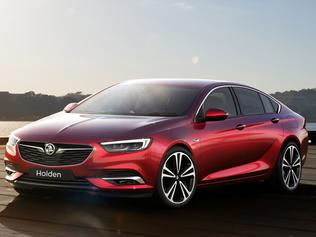 Computer generated image of the 2018 Holden Commodore.