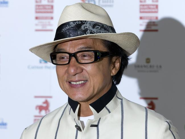 Action star Jackie Chan, an anti-drugs ambassador, expressed disappointment over his son's actions.