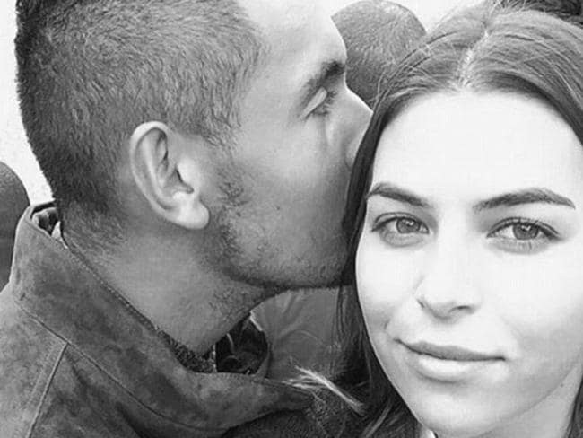 Nick Kyrgios has girlfriend Ajla Tomljanovic staying with him.