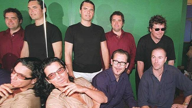 Winners ... INXS spend a fourth week at No. 1 with their Very Best Of record: Picture: AFP
