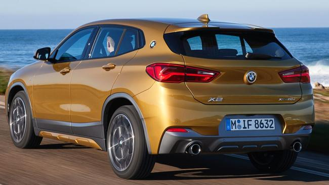 BMW X2: It's an X1 ... but not as we know it.
