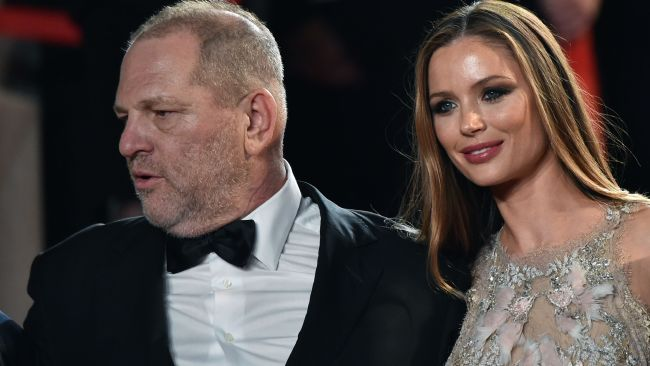 Weinstein's wife Georgina Chapman announced she was separating from the mogul yesterday. Photo: AFP / Alberto Pizzolo