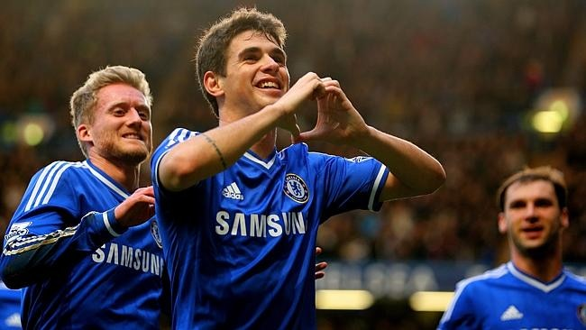 Oscar is one of the league's most talented youngsters.