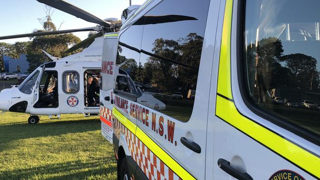 NSW Ambulances have a call-out fee, plus an extra charge per kilometre.