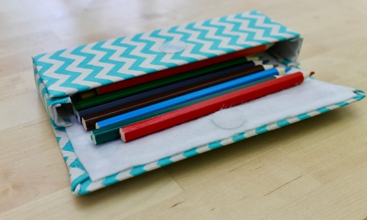 How to make a no-sew pencil case