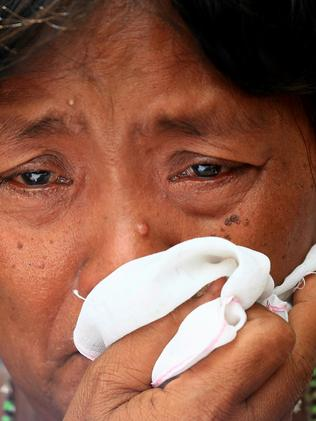 Celia Veloso, Mary Jane's mother is ecstatic at the news her daughter will live. Pic: Adam Taylor