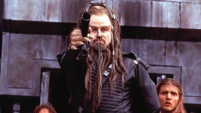 What was the point of John Travolta's nose-dreadlocks?