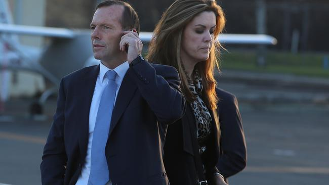 The pair worked closely together for years — even before Tony Abbott became PM.