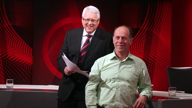 Had contact ... it's understood Q&A executive producer Peter McEvoy conducted a briefing with preselected questioners before Monday night's show. Picture: Sam Mooy