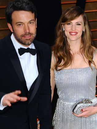 Split ... Ben Affleck and Jennifer Garner. Picture: Getty