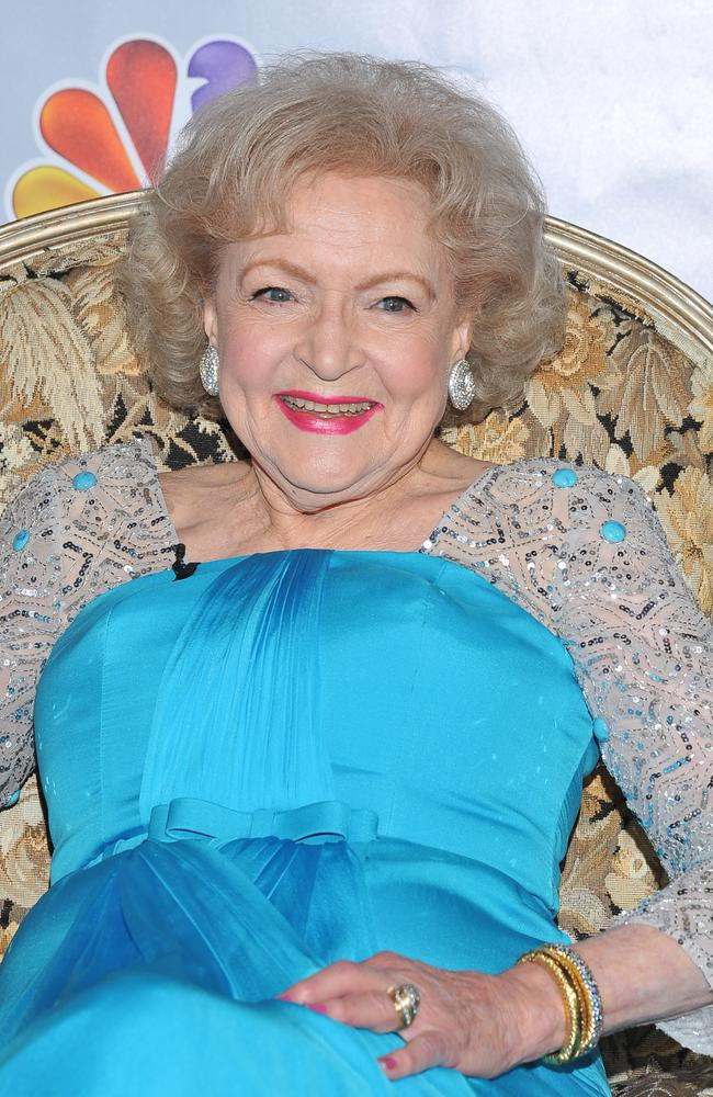 Isn't she lovely ... at 92, Betty White is still as popular as ever.
