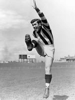 Lou at training in 1952.