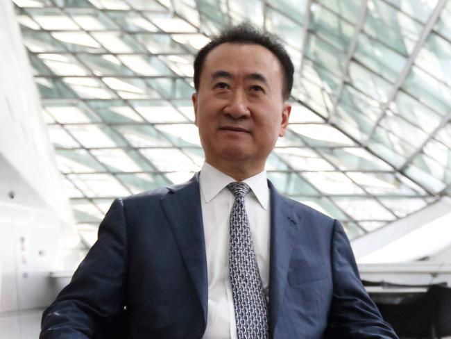 China's richest man ... real estate and entertainment magnate Wang Jianlin. Picture: Tomohiro Ohsumi/Bloomberg