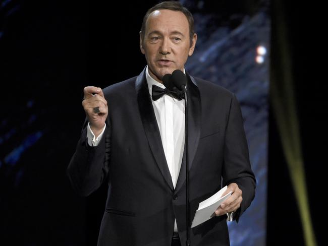 Kevin Spacey has been accused of sexual harassment by several men in recent days. Picture: AP.