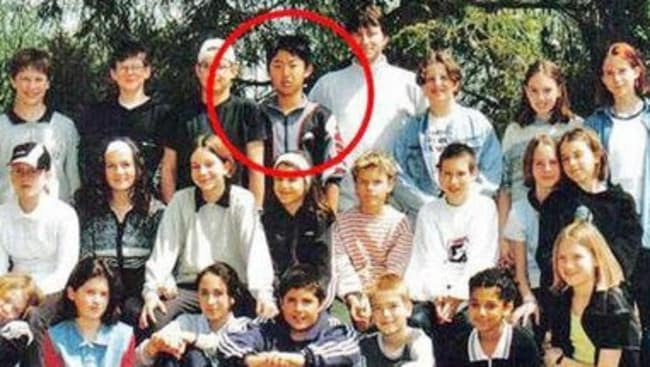 Kim Jong-Un during his school years in Switzerland
