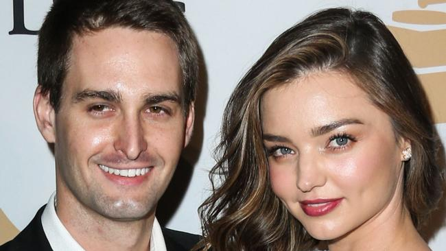 See The Ring: Miranda Kerr Announces Engagement To Snapchat Founder Evan Spiegel