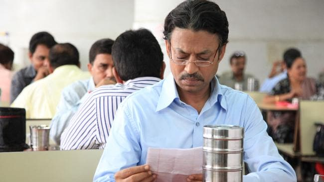Bewitched ... Irrfan Khan in a scene from the Indian film The Lunchbox.