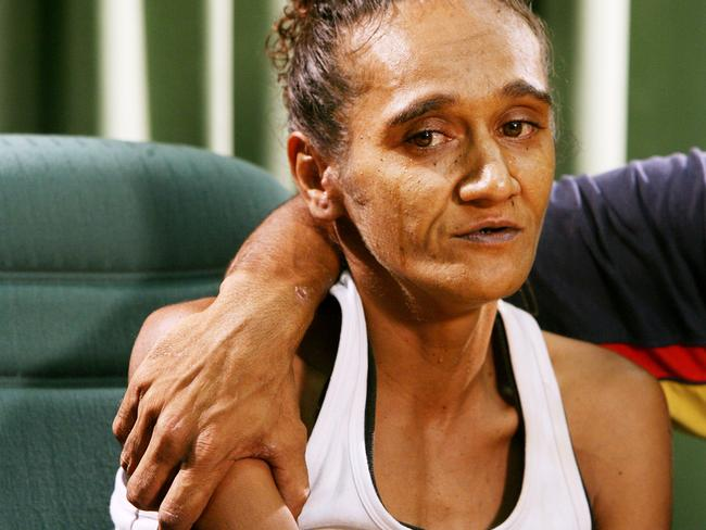 Norma, back in 2006, after her sons, aged eight and 10, died when a night train hit them on the railway track.