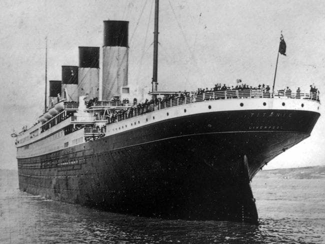 If it were not for the Carpathia, every one of the great vessel's passengers would most probably have died from hyperthermia in the freezing conditions. Picture: Father Browne's Titanic Album