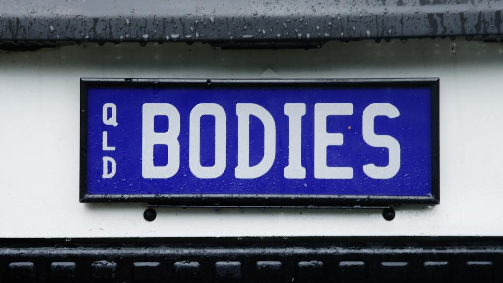 A numberplate that made it through the censors in Queensland.