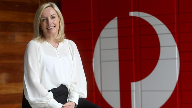 CEO of Australia Post, Christine Holgate, said she would take on many of the report's recommendations. Picture: David Geraghty.