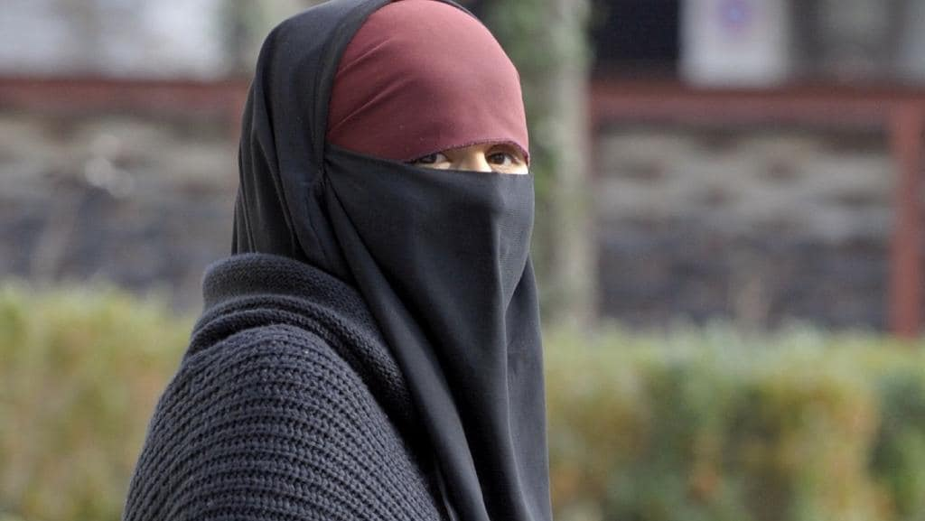 A ban on the wearing of the full Islamic veil is being implemented in several European countries, including the Netherlands, Denmark and Austria. Picture: AFP Photo/Philippe Desmazes