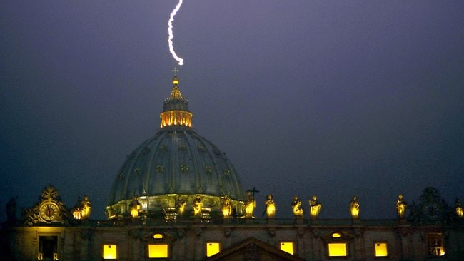 VATICAN-POPE-RESIGN-ST PETER