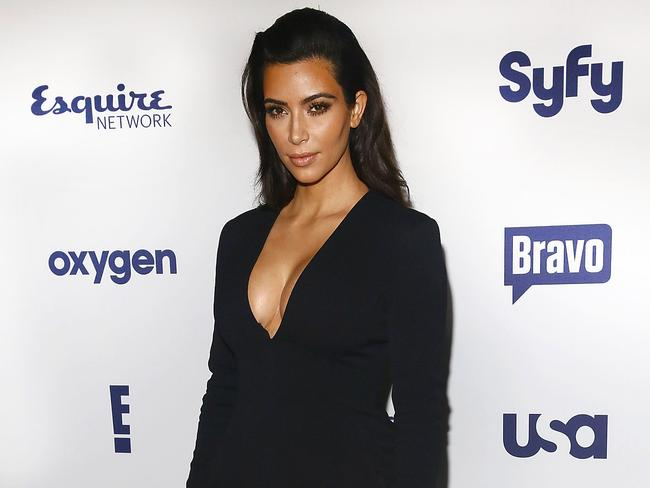 Self-involved ... Kim Kardashian hasn't reached out to ger brother Robert following his melt down. Picture: Astrid Stawiarz/Getty Images