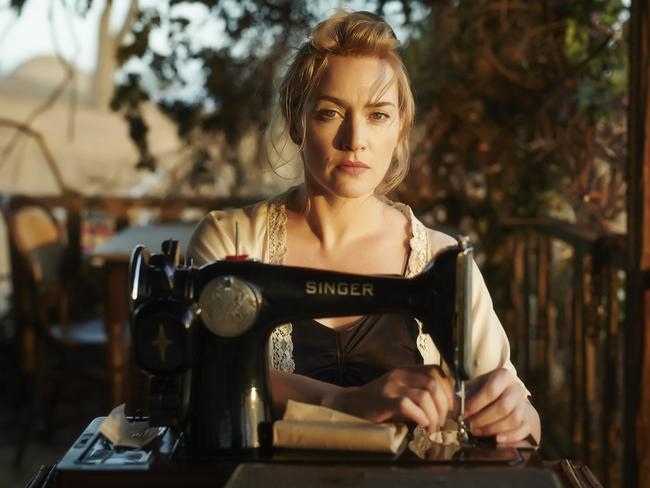 English actor Kate Winslet in a scene from Australian film The Dressmaker. Picture: Universal Pictures