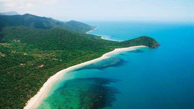 Cape Tribulation in the Daintree National Park in North Queensland has come in at number 20 on the list. Picture: Tourism Queensland.