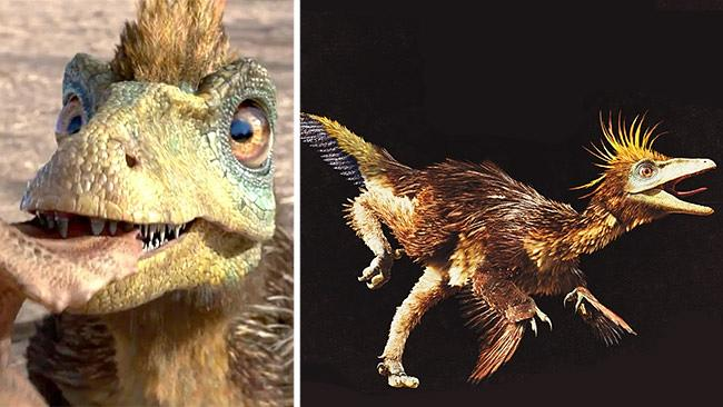 Walking With Dinosaurs 3D explores a fluffy, feathered ...