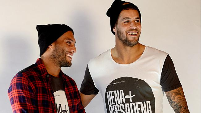 Lance Franklin and Josh Gibson