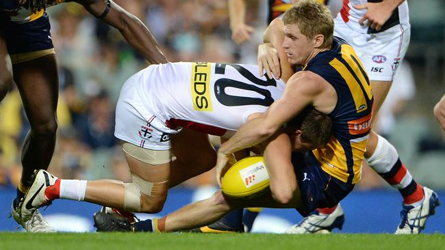 West Coast's Scott Selwood is the Eagles' Tackling King.