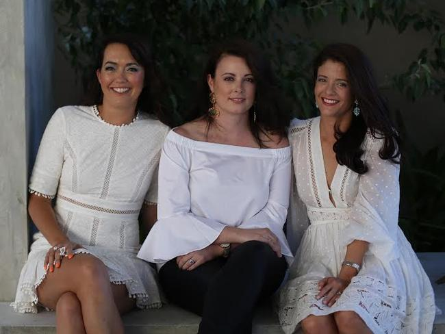The founders of The Volte (L-R) Kym Atkins, Genevieve Hohnen, Bernadette Olivier.