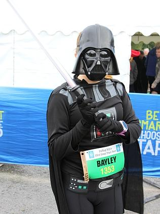 Michelle Bayley from Traralgon as Darth Vader. Photo courtesy of Ms Boheme Rawoteea