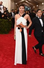 """Maggie Gyllenhaal attends the Met Gala 2015 """"China: Through The Looking Glass"""". Picture: Getty"""