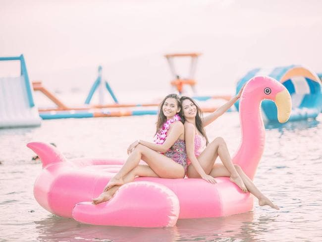 You can just chill if you like. Picture: Inflatable Island