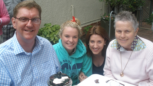 Photo: Amanda's mum's last Christmas with her dad and sister
