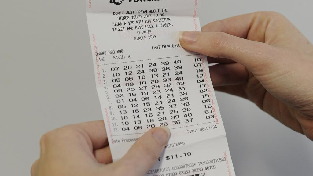 Powerball Australia Check Ticket