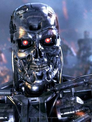 Once feared ... robots and artificial intelligence were depicted as evil in the Terminator movies.