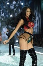 Adriana Lima walks the runway during the 2016 Victoria's Secret Fashion Show on November 30, 2016 in Paris, France. Picture: Getty