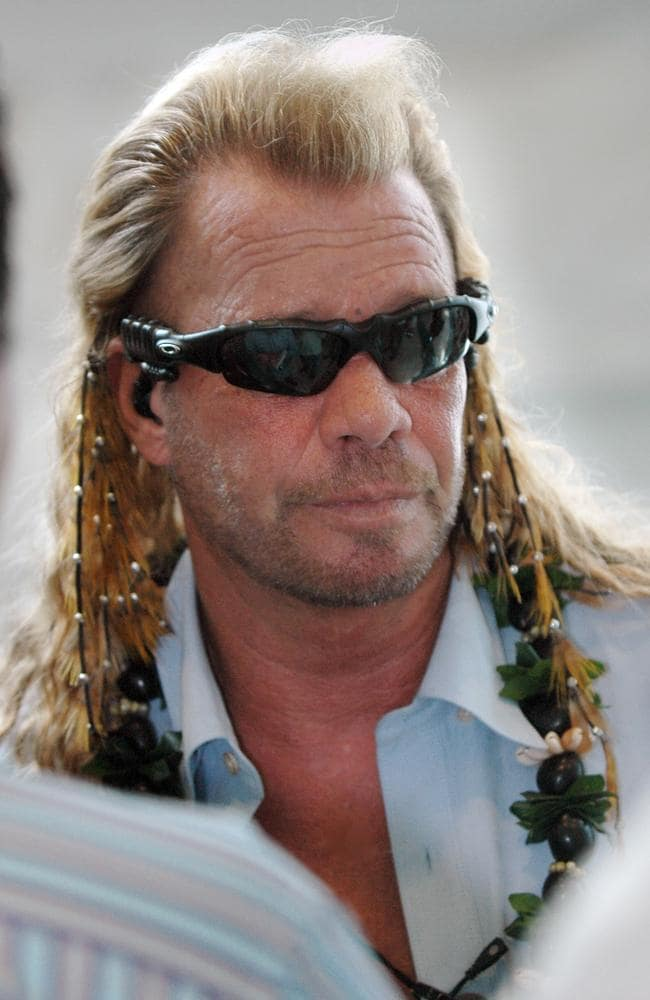 Duane Chapman, aka Dog the Bounty Hunter.