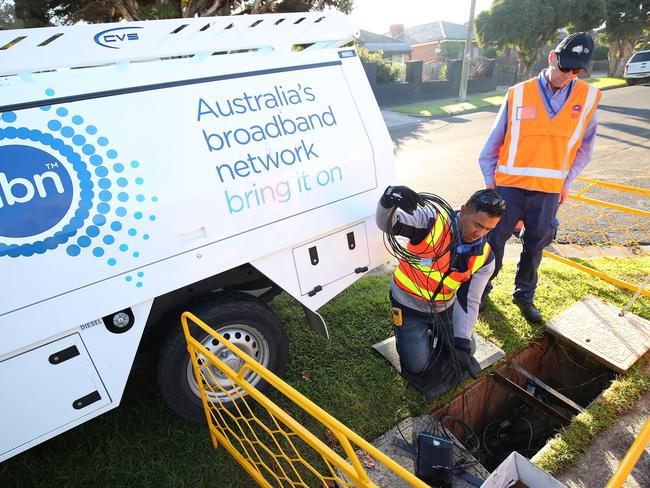 "NBN boss Bill Morrow said: ""To be quite blunt about it, the more money that NBN spends on building the network then the more expensive the services will be for Australians — it really is that simple."""