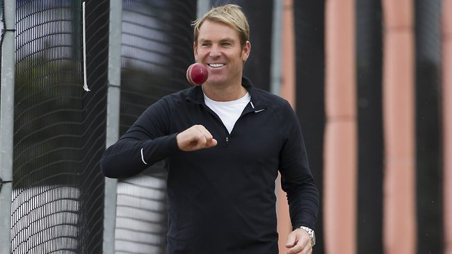 Shane Warne has lashed out at England after they splashed out at the Oval.