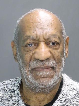 Disgraced ... Cosby's mugshot provided by the Cheltenham Police Department in Elkins Park, Pennsylvania.